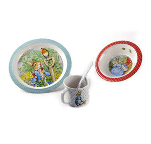 Beatrix Potter' s Peter Rabbit 4pc Breakfast Set