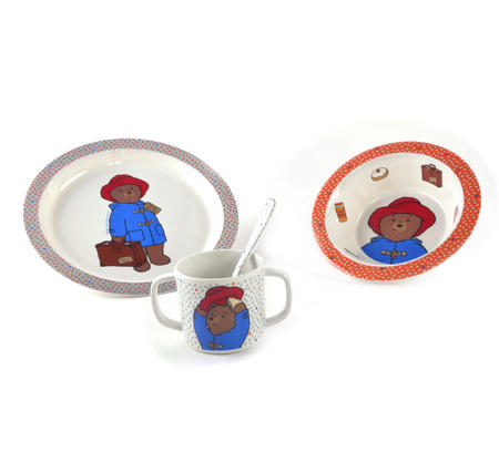 Paddington Bear 4pc Breakfast Set