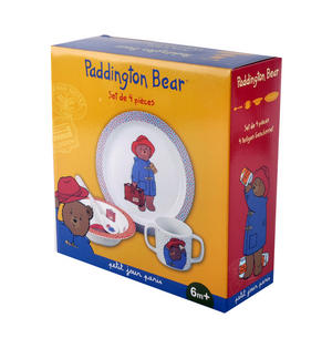 Paddington Bear 4pc Breakfast Set Thumbnail 2
