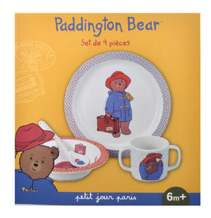 Paddington Bear 4pc Breakfast Set Thumbnail 3
