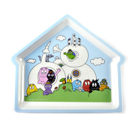 Barbapapa House Shaped Plate