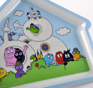 Barbapapa House Shaped Plate Thumbnail 3
