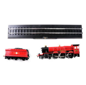 Harry Potter Hogwarts Express Die Cast Train Model and Base Thumbnail 5