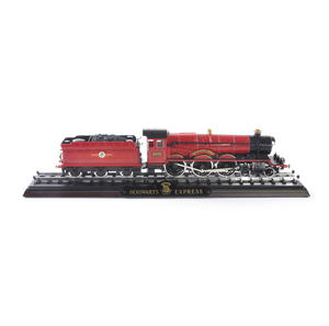 Harry Potter Hogwarts Express Die Cast Train Model and Base Thumbnail 7