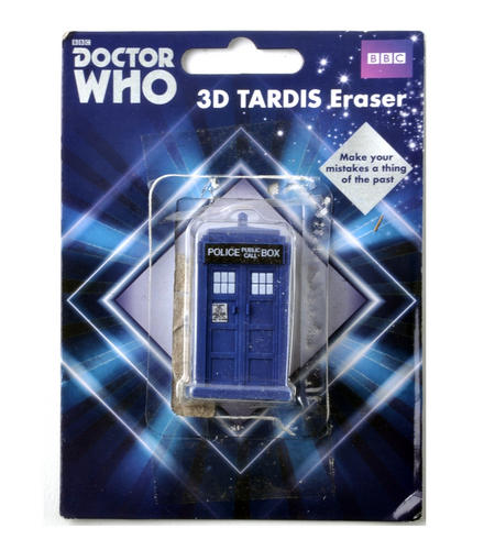 Doctor Who Tardis Eraser
