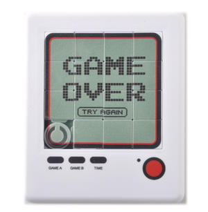 Game Over Retro Game Puzzle