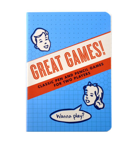 Great Games Book - Classic Pen & Pencil Games For Two Players