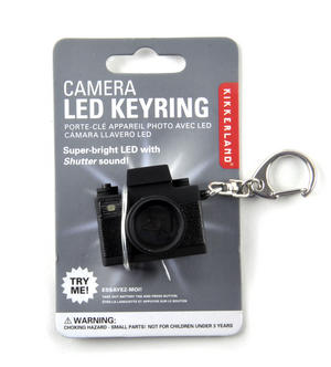 Camera Keyring With Super Bright LED Camera Flash & Shutter Sound Thumbnail 2
