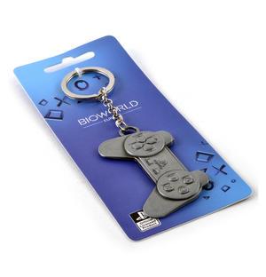 Metal Play Station - Moulded PlayStation Keyring Thumbnail 2