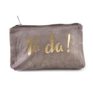Ta da! Gold Glitter Make Up Bag Thumbnail 3