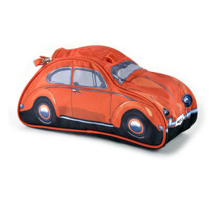 Volkswagen Orange Beetle Washbag /  Make Up Bag