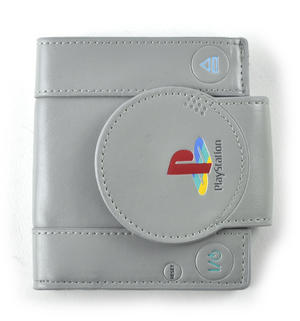 Play Station Deluxe PlayStation Shaped Bifold Wallet