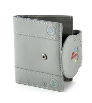 Play Station Deluxe PlayStation Shaped Bifold Wallet Thumbnail 3