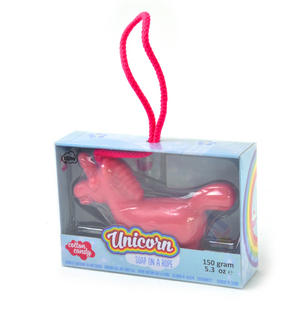 Unicorn Soap On A Rope