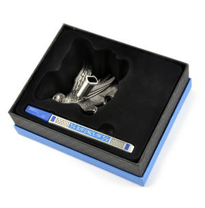 Harry Potter Ravenclaw Silver Finish Pen Set Noble Collection Thumbnail 5