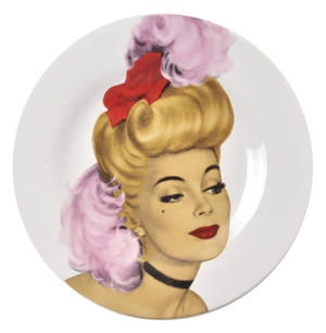 Show Girl Wall Plate Collection - Set of 3 Thumbnail 5