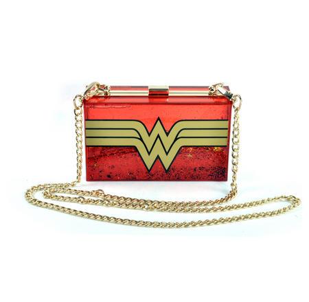 Wonder Woman Glitterbox Cross Body Bag