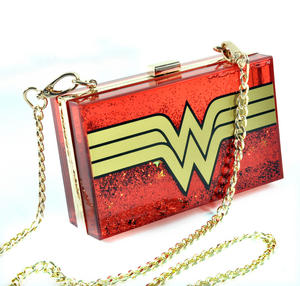 Wonder Woman Glitterbox Cross Body Bag Thumbnail 2