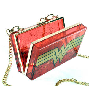 Wonder Woman Glitterbox Cross Body Bag Thumbnail 7