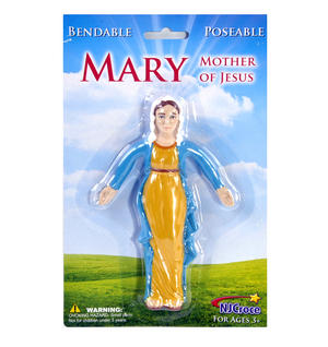 Virgin Mary - Bendable Mary