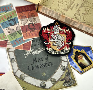 Ron Weasley (Harry Potter) Film Artefact Box - A Trove of Replica Harry Potter Documents and Keepsakes Thumbnail 2