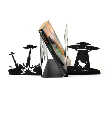 Alien Invasion 2 x Bookends