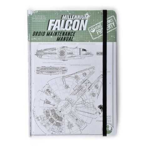 Star Wars Rogue 1 Millennium Falcon Droid Maintenance Manual Notebook