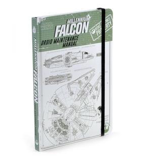 Star Wars Rogue 1 Millennium Falcon Droid Maintenance Manual Notebook Thumbnail 3