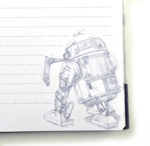 Star Wars R2 D2  Droid Maintenance Manual Notebook Thumbnail 4