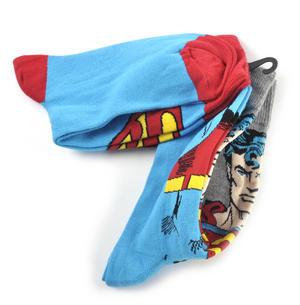 Superman Socks Full Body & Logo Socks - 2 Pairs Thumbnail 2