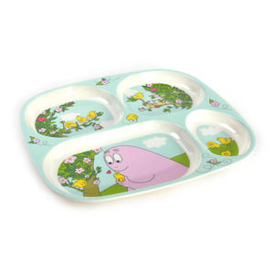 Barbapapa 4 Compartment Serving Tray Thumbnail 2