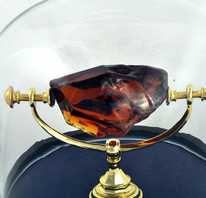 Philosopher's Stone / Sorcerer's Stone in Glass Display Case  - Harry Potter Replica by Noble Collection Thumbnail 4