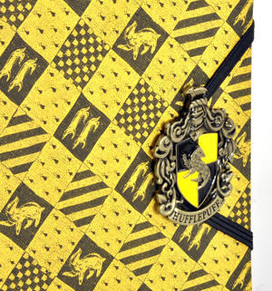 Harry Potter Hufflepuff Premium Journal Notebook - Noble Collection Thumbnail 2