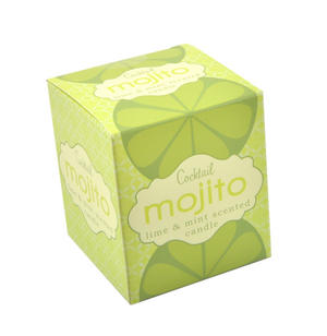 Cocktail Mojito Candle - Lime and Mint Scented Candle Thumbnail 2