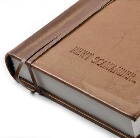 Newt Scamander Journal / Notebook - Newt Scamander Fantastic Beasts - Noble Collection Replica