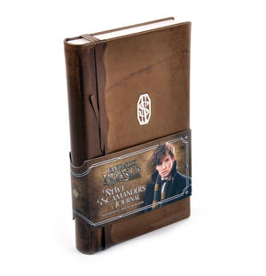 Newt Scamander Journal / Notebook - Newt Scamander Fantastic Beasts - Noble Collection Replica Thumbnail 4