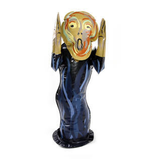 Edvard Munch's The Scream Inflatable Toy Thumbnail 4