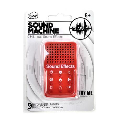 Mini Classic Sound Machine - 9 Essential Sound Effects