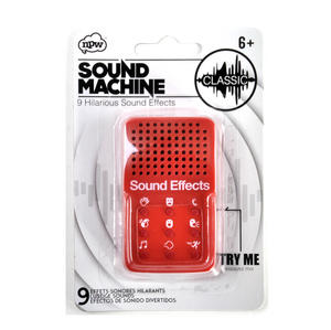 Mini Classic Sound Machine - 9 Essential Sound Effects