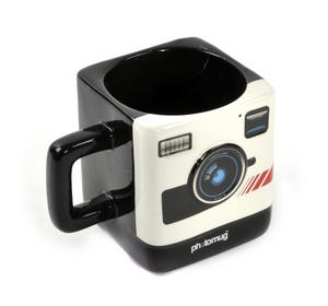 Retro Camera Square Photo Mug Thumbnail 1