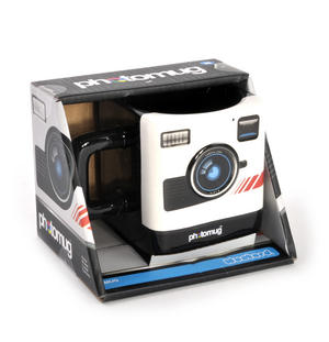 Retro Camera Square Photo Mug Thumbnail 2
