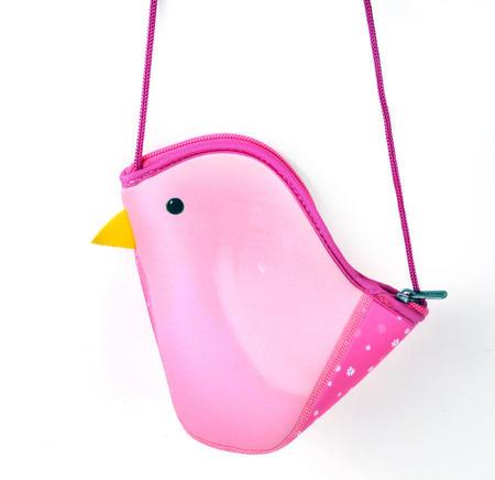 Pink Bird Bag By Kori Kumi