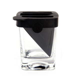 Corkcicle Whiskey Wedge Tumbler Glass - Stops Dilution of your Iced Whiskey. Thumbnail 5