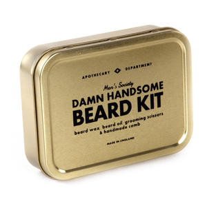 Damn Handsome Beard Kit - Handmade Small Batch Production from The Men's Society Apothecary Department Thumbnail 3