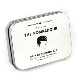 The Pompadour Hair Grooming Kit - Handmade Small Batch Production from The Men's Society Apothecary Department Thumbnail 2