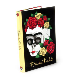 Frida Kahlo Floral Skull A5 Address Book Thumbnail 1