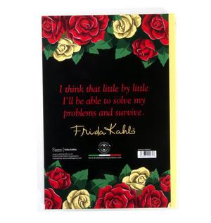 Frida Kahlo Floral Skull A5 Address Book Thumbnail 3