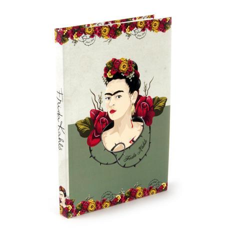 Frida Kahlo - Rose Thorns A5 Hardback Notebook