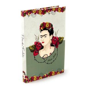 Frida Kahlo - Rose Thorns A5 Hardback Notebook Thumbnail 1