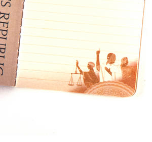 Plato's Republic Passport - Ancient Greek Pocket Notebook Thumbnail 4